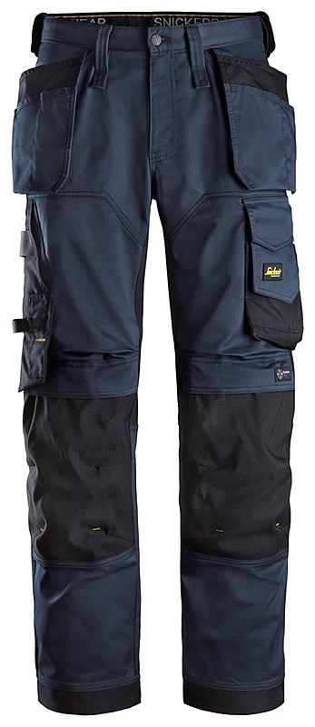 62519504S STRETCH LOOSE FIT TROUSER NAVY /