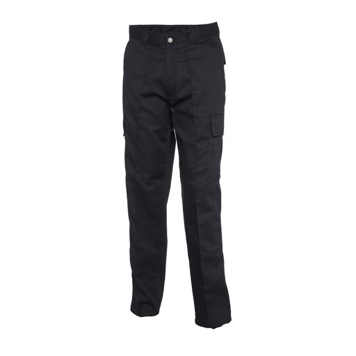 UC902/LL CARGO TROUSERS BLACK TALL LEG