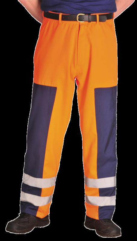 S918/NR BALLISTIC TROUSER NAVY REG LEG