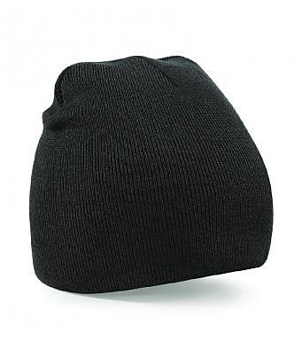 BB44/L PULL ON ACRYLIC KNIT HAT BLACK