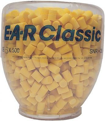 PD-01-001 E.A.R CLASSIC REFILL 500 PAIRS