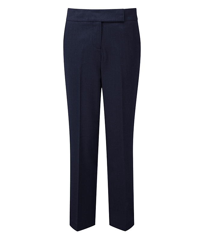 CLTR02L/N LADIES POLYESTER TROUSER NAVY