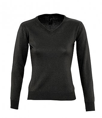 90010/L LADIES GALAXY V-NECK SWEATER