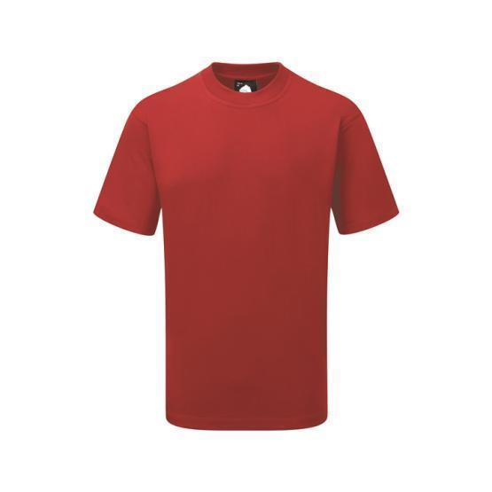 1005-15/D GOSHAWK DELUXE T-SHIRT RED