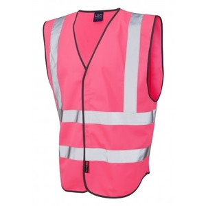 1110-PINK COLOURED WAISTCOAT PINK