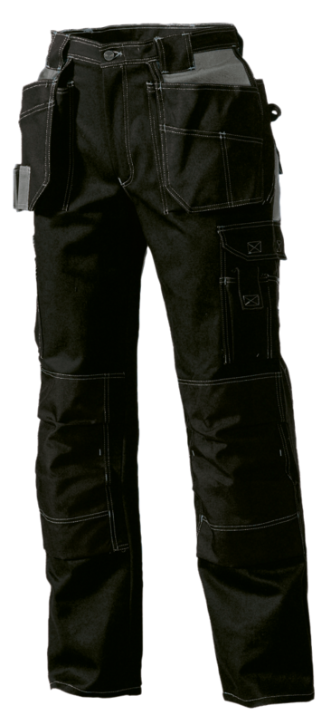 73305007RX CRAFTSMAN TROUSERS BLACK REG