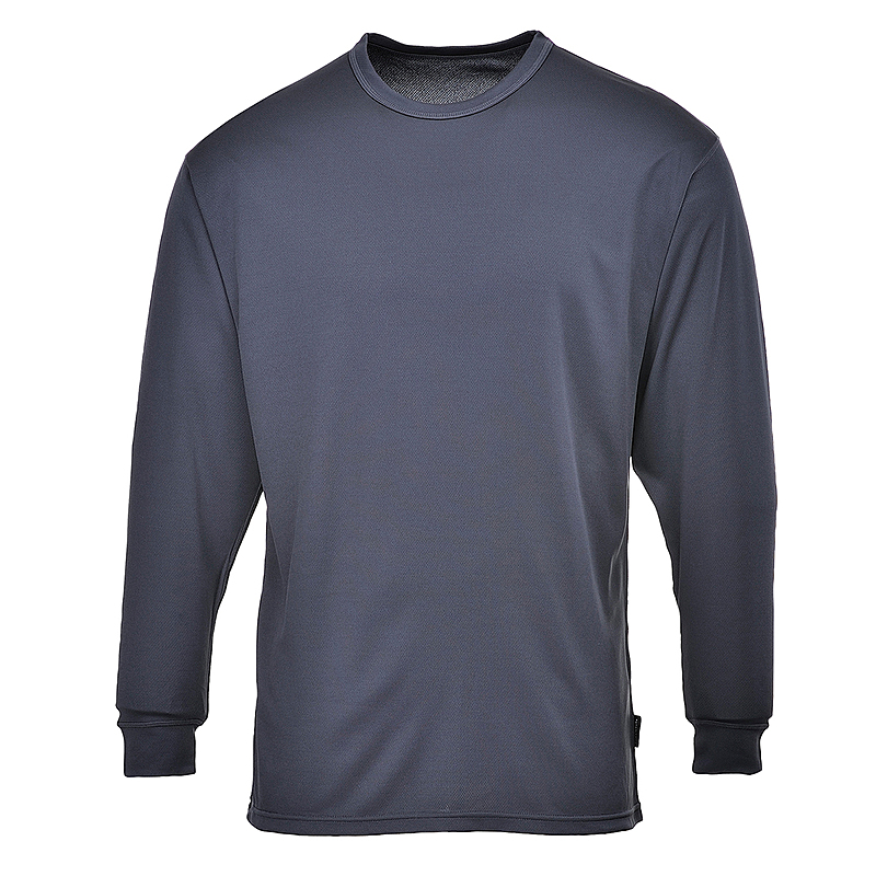 B133/CH THERMAL BASELAYER TOP CHARCOAL