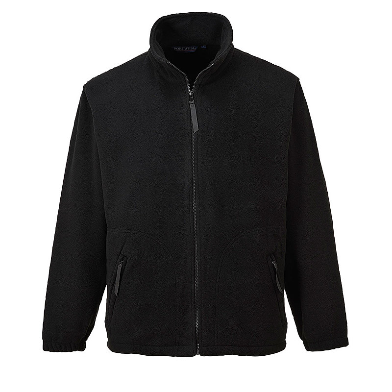 F400/L ARGYLL HEAVY FLEECE BLACK