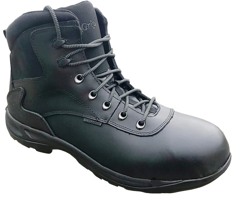 K55474 ENGINEER BLACK SAFETY BOOT S2 SRC