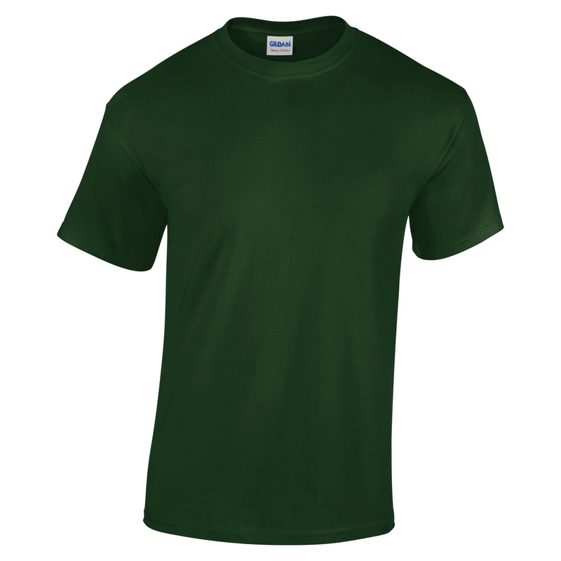 GD05/FG GILDAN HEAVY T-SHIRT FOREST