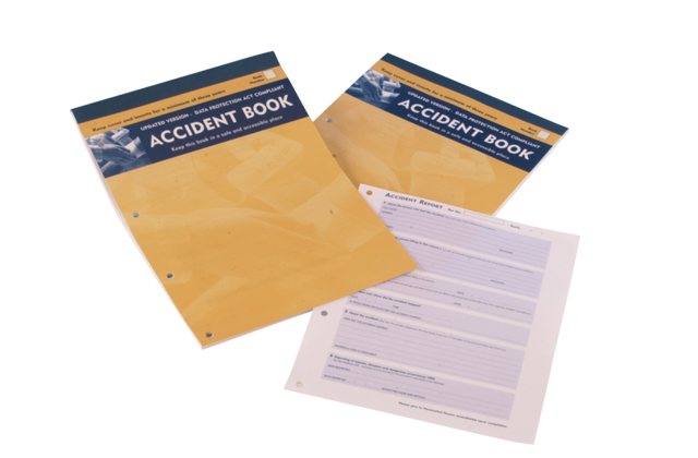91424 ACCIDENT BOOK - A4