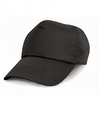 RC005/L RESULT COTTON CAP BLACK