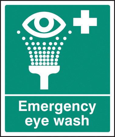 26003H EMERGENCY EYE WASH S/ADH 300 X