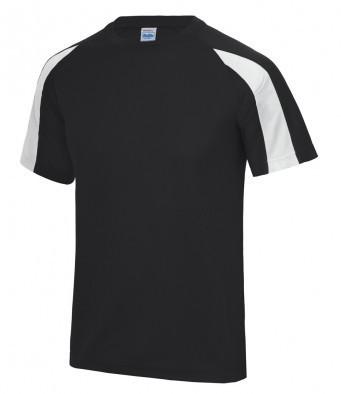 JC003/LW COOL WICKING T-SHIRT BLACK/