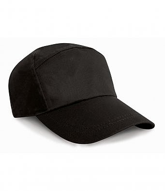 RC002/L RESULT ADVERTISING CAP BLACK