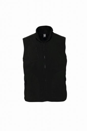 51000/L NORWAY FLEECE BODYWARMER BLACK