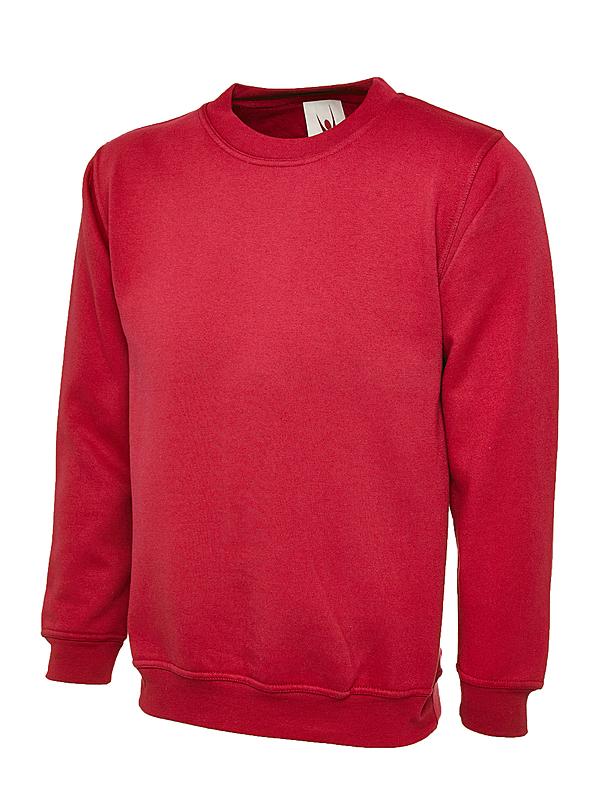 UC201/D PREMIUM SWEATSHIRT RED