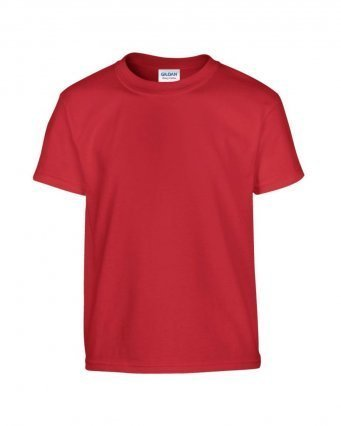 GD05B/D KIDS COTTON T-SHIRT RED