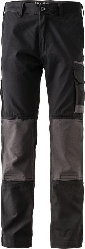 FXDWP-1/LR FXD WORKPANT BLACK REG LEG