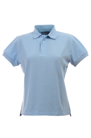 CPHJ LADY FIT POLO SKY