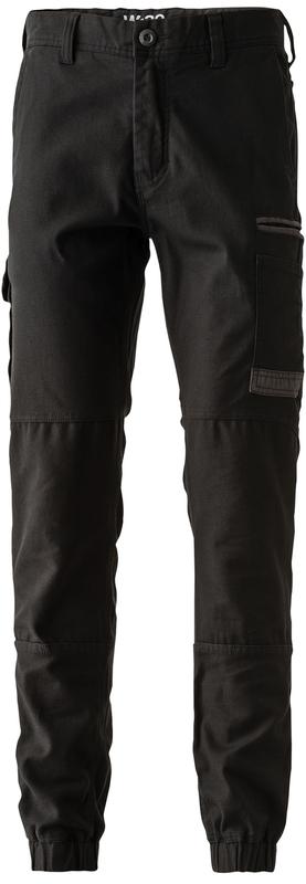 FXDWP-4/LR FXD WORKPANT BLACK REGULAR LEG