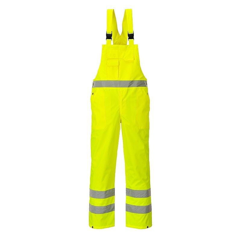 S388/Y HI-VIS BIB AND BRACE YELLOW