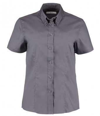 K701/C LADIES BLOUSE CHARCOAL