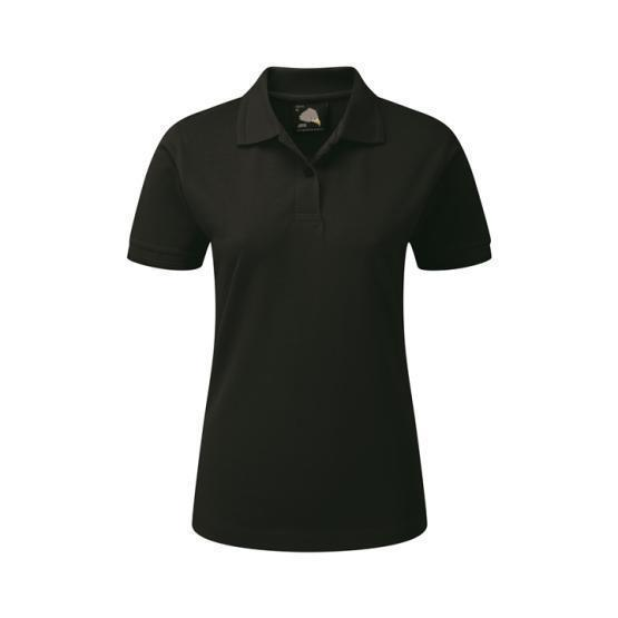 1160-10/L LADIES WREN POLO BLACK
