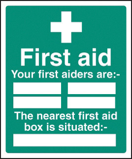 16027H FIRST AID BOX SITUATED RIGID