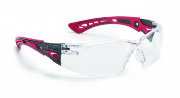 RUSHPPSI BOLLE RUSH+ GLASSES CLEAR LENS