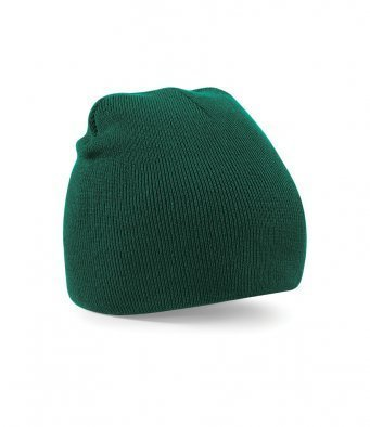BB44/BG ACRYLIC KNIT HAT BOTTLE GREEN