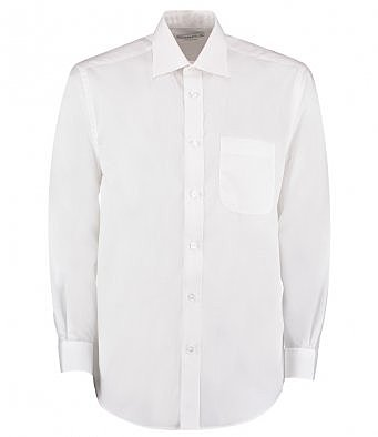 K104/W LONG SLEEVE SHIRT WHITE