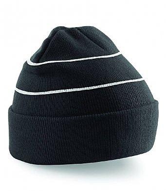 BB42/L HI-VIZ ACRYLIC KNITTED HAT