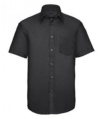 957M/L SHORT SLEEVE SHIRT BLACK