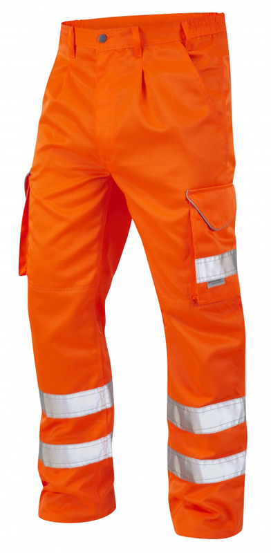 1383/T HI-VIS BIDEFORD ORANGE CARGO