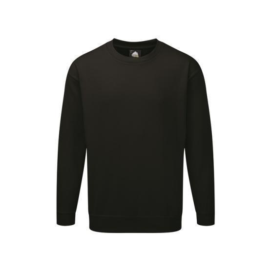 1250-15/L KITE SWEATSHIRT BLACK