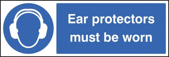 C8AQ USE EAR PROTECTORS THIS AREA