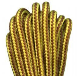 64088 YELLOW/BROWN 140CM BOOT LACES