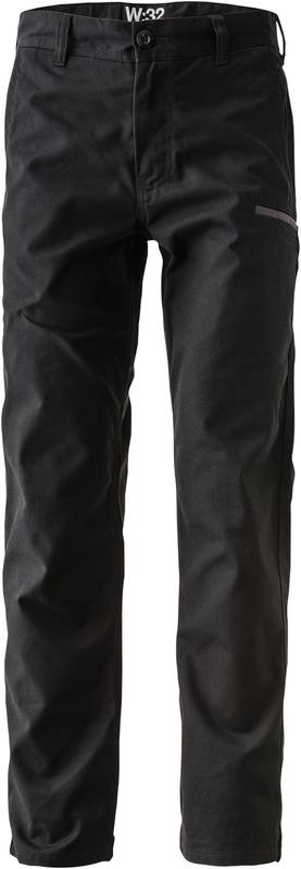 FXDWP-2/LR FXD WORKPANT BLACK REG LEG
