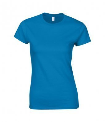 GD72/SAP LADIES FITTED T.SHIRT SAPPHIRE