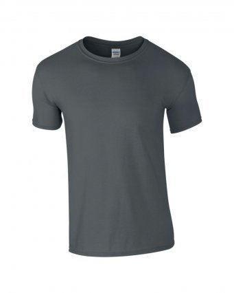 GD01/CH SOFTSTYLE T-SHIRT CHARCOAL