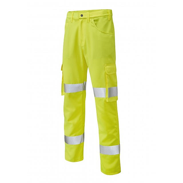 CT03-Y/R HIVIS YELLAND YELLOW TROUSERS