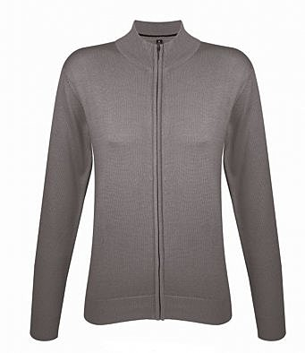 10550/G LADIES FULL ZIP CARDIGAN