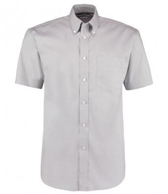K109/SG OXFORD SHIRT SILVER GREY