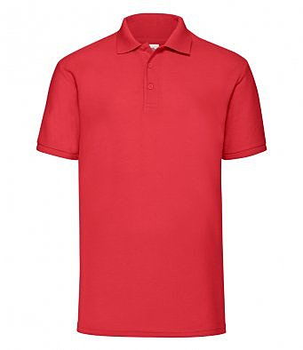 SS11/D POLY/COTTON POLO RED
