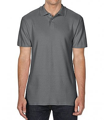 GD35/CH SOFTSTYLE POLO SHIRT CHARCOAL