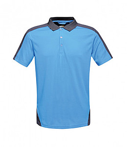 TRS174/RN CONTRAST COOLWEAVE POLO ROYAL/