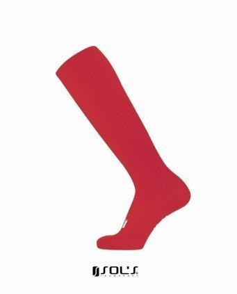 10604/D SOLS SOCCER SOCKS RED