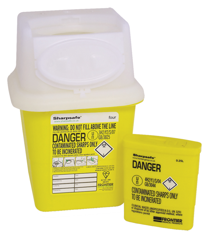 4632 SHARPS DISPOSAL CONTAINER