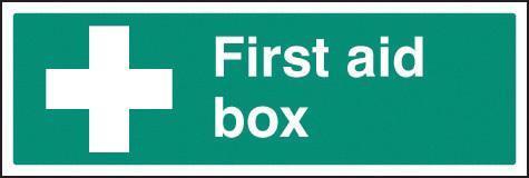 16014G FIRST AID BOX RIGID 300X100MM